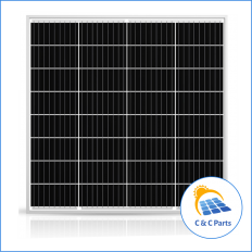 C & C Parts SOLAR PANEL 80W-12V MONOCRYSTALLINE -