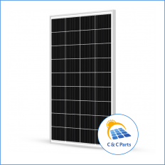 C & C Parts SOLAR PANEL 120W-12V MONOCRYSTALLINE -