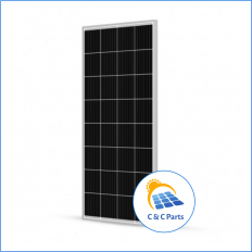 C & C Parts SOLAR PANEL 160W-12V MONOCRYSTALLINE -